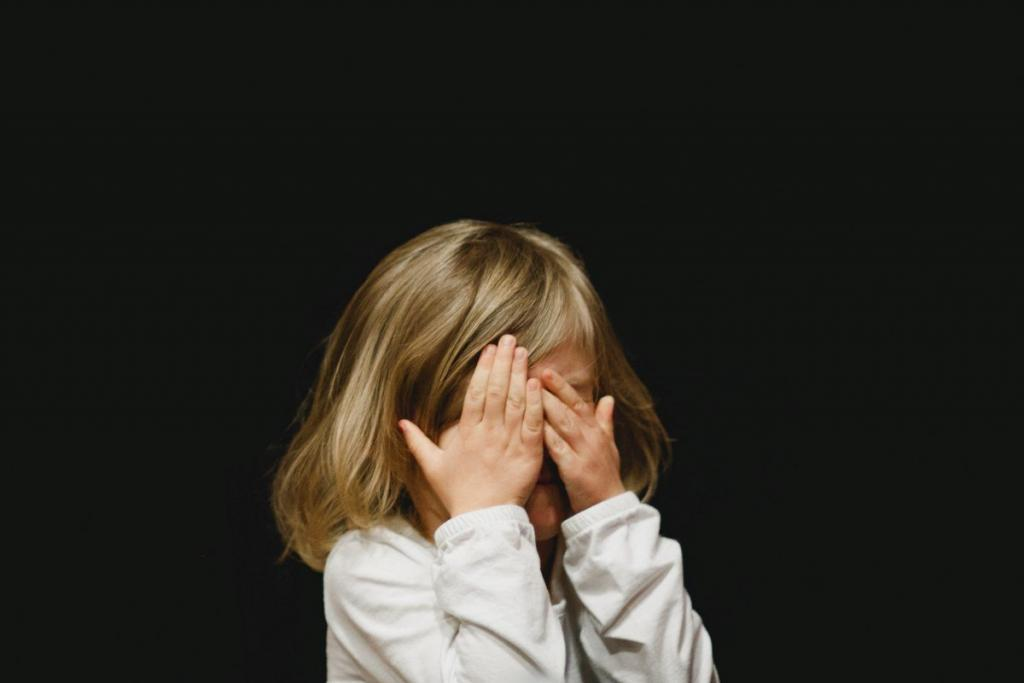 A child with a trauma that leads to stored negative beliefs in the power of the subconscious mind of an adult.