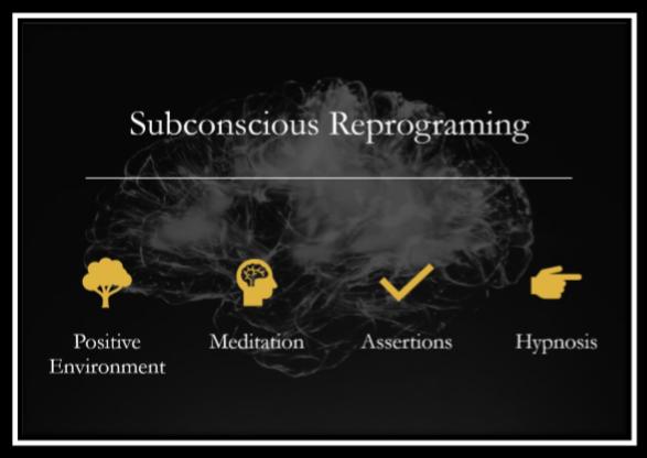 Subconscious Reprogramming infographic