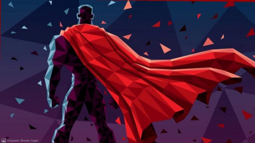 A hero illustrated for the self hypnosis therapy of NLP Hero