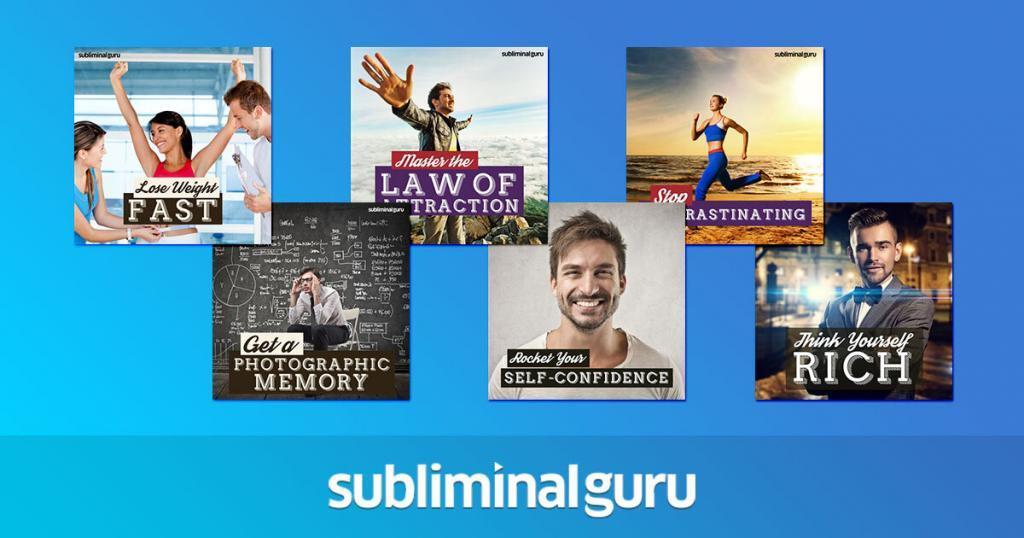 Subliminal guru learn self-hypnosis