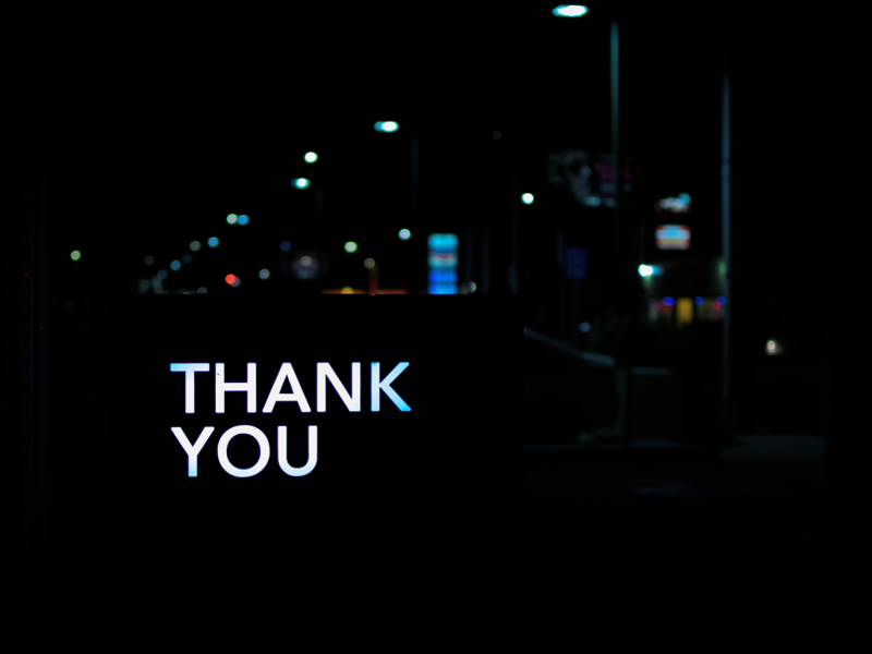 Thank you for practicing gratefulness for a better life