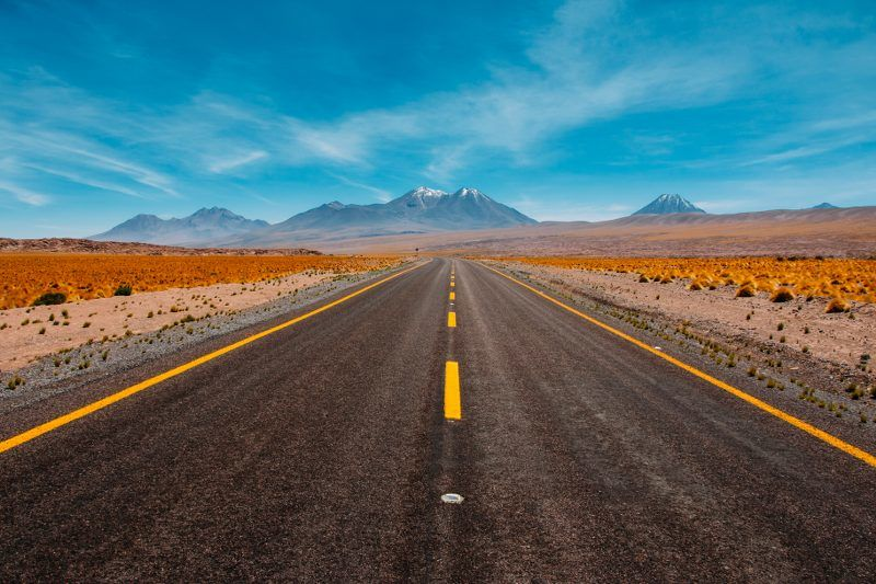 Highway hypnosis caused by driving monotonous roads.