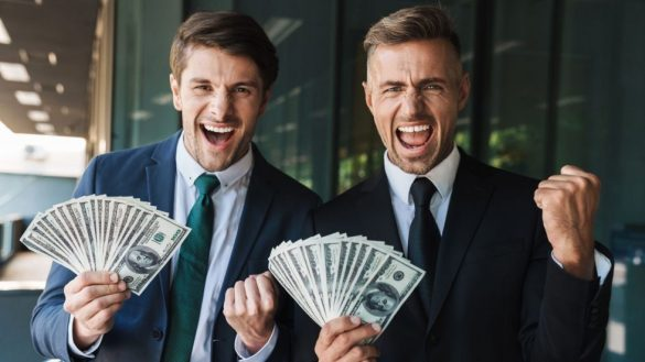 Two men that got rich from the Total Money Magnetism free downloads